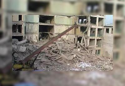 В Тбилиси обрушилось здание, есть погибший