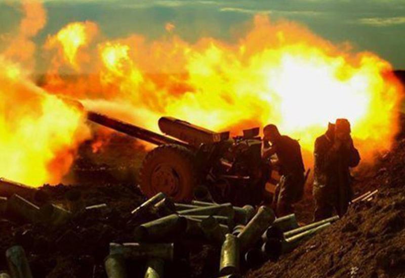 """Армянская армия использует тяжелое вооружение на линии фронта <span class=""""color_red""""> - СОВМЕСТНОЕ ЗАЯВЛЕНИЕ</span>"""