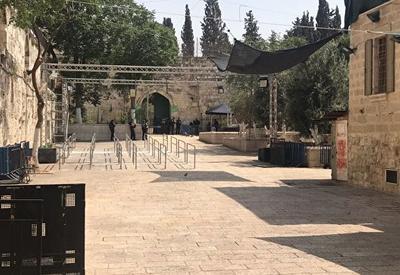 Израиль убрал барьеры от Храмовой горы