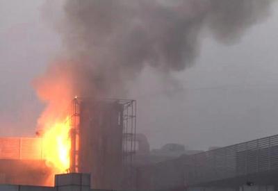 """Пожар в стамбульском отеле, постояльцы эвакуированы <span class=""""color_red"""">- ФОТО - ВИДЕО</span>"""