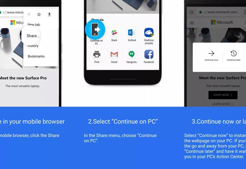 Windows 10 привяжет Android-смартфон к компьютеру