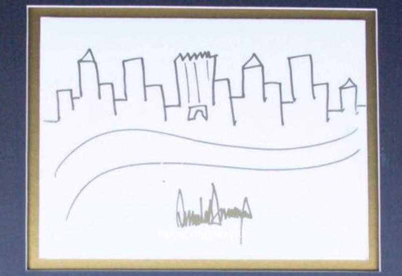 Рисунок Дональда Трампа ушел с молотка