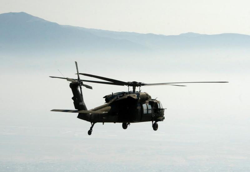 Американский боевой вертолет столкнулся с деревом в Австрии
