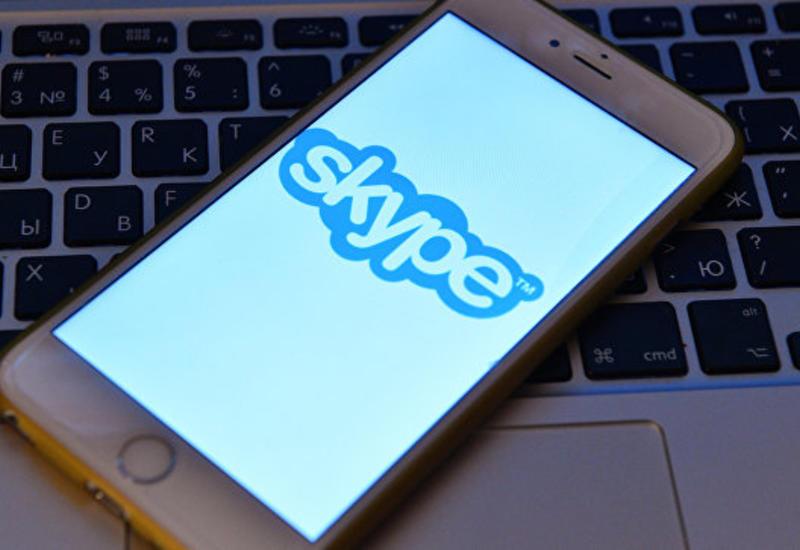 В работе Skype произошел масштабный сбой