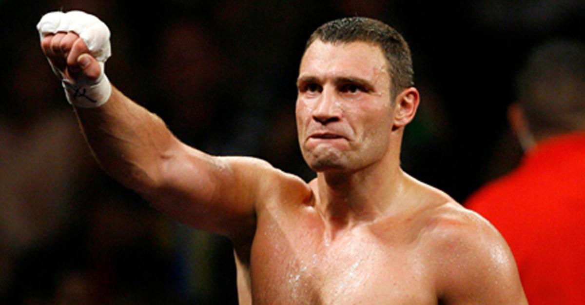 Владимир Кличко объявил озавершении карьеры боксера