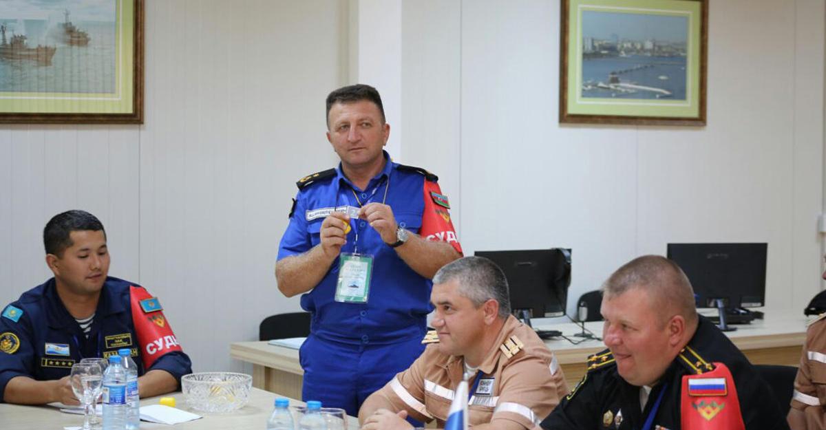 Врамках «Кубка моря— 2017» вАзербайджанской столице  состоялась жеребьевка