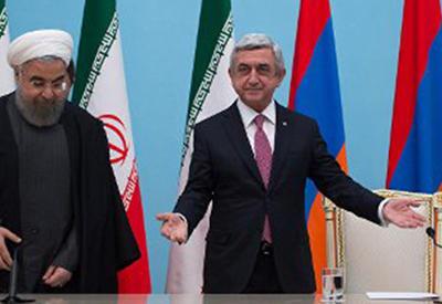 """Саргсян сказал в Тегеране """"халва!"""", но сладко не стало - ПОДРОБНОСТИ"""