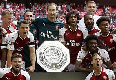 """Арсенал"" обыграл ""Челси"" и выиграл Суперкубок Англии <span class=""color_red"">- ВИДЕО</span>"