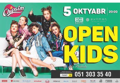 """Группа Open Kids впервые выступит в Баку <span class=""""color_red"""">- ФОТО</span>"""