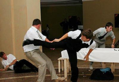 Массовая драка на свадьбе в Дашкесане, есть пострадавшие