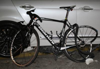 В Баку арестован водитель, сбивший велосипедистов