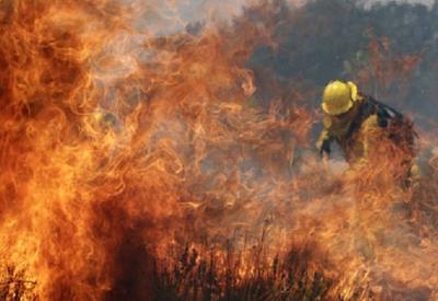 В Гусаре сгорели 240 тонн связок сена