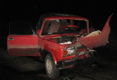 На дороге Гянджа-Дашкесан столкнулись автомобили, есть пострадавшие