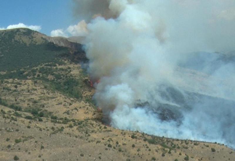 Сильный пожар в Хачмазе потушен