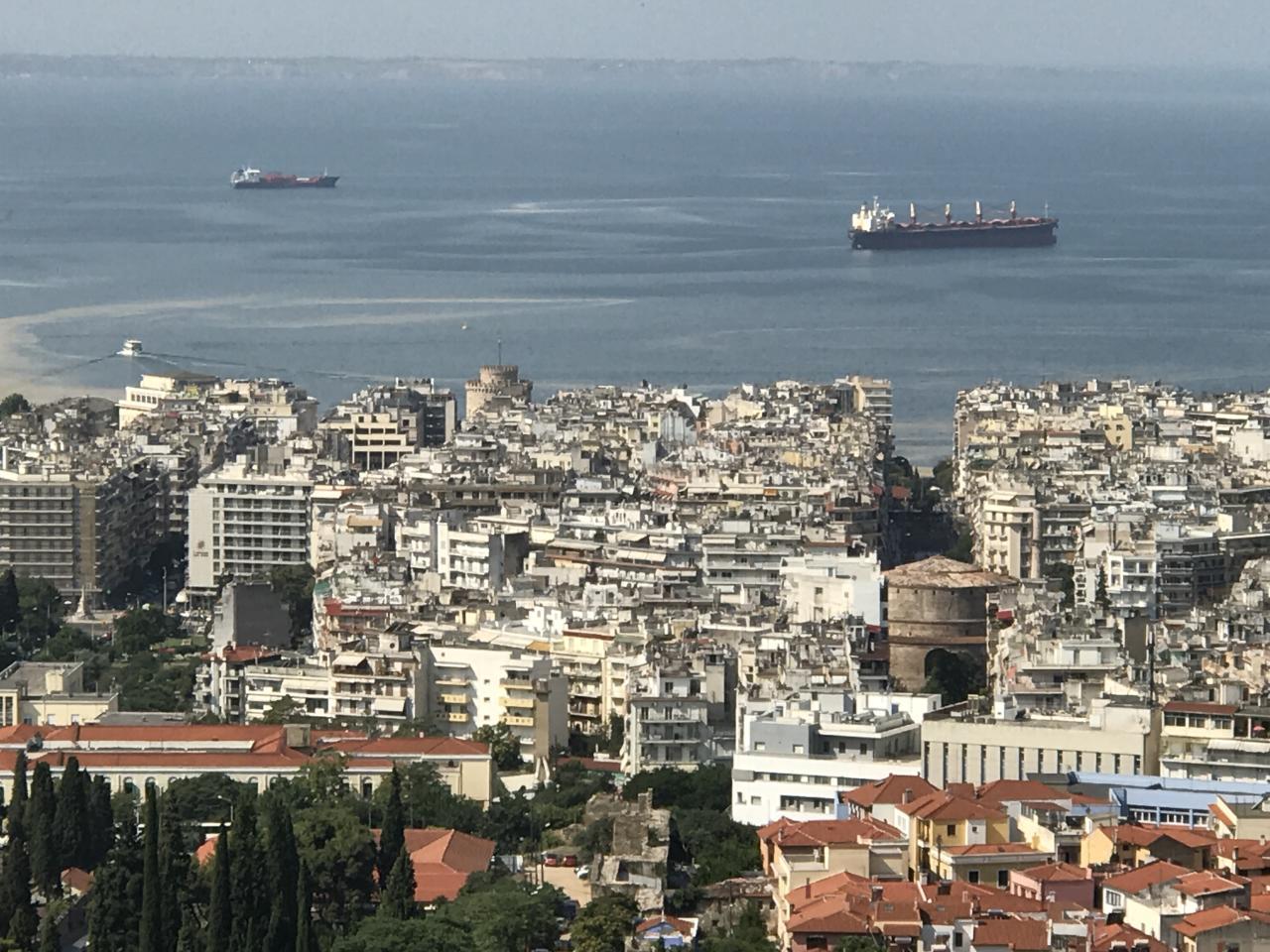 Солнечная Греция: Салоники