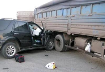 Тяжелая авария в Сальяне, есть раненые