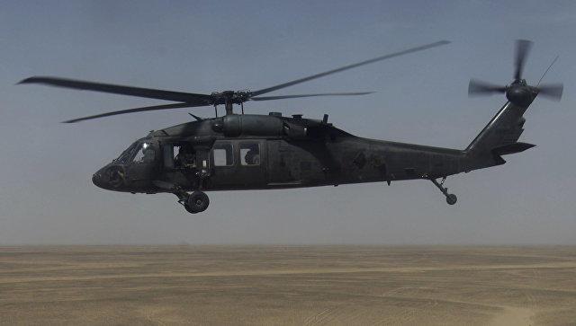 НаГавайях разбился американский военный вертолет