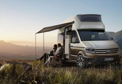 """Новейший Volkswagen Crafter подготовили для больших путешествий <span class=""""color_red"""">- ФОТО</span>"""