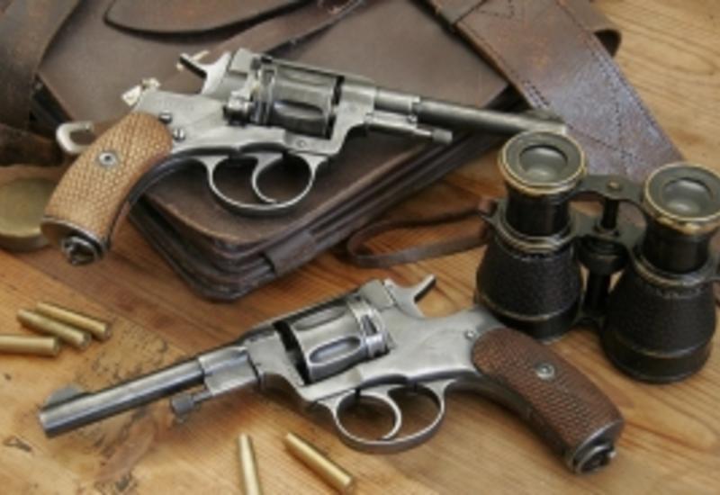 В Агстафе обнаружены оружие и боеприпасы