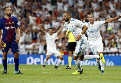 """Реал"" победил ""Барселону"" и в 10-й раз выиграл Суперкубок Испании <span class=""color_red"">- ФОТО - ВИДЕО</span>"