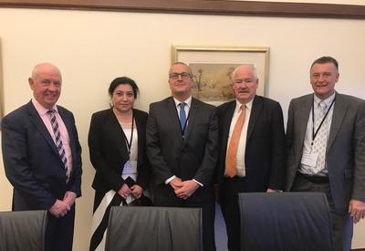 Почетный консул Азербайджана в Австралии встретилась с парламентариями штата Западная Австралия