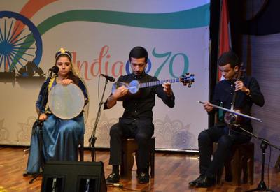 """Великолепный синтез индийского танца и азербайджанского мугама на бакинской сцене <span class=""""color_red"""">- ФОТО</span>"""