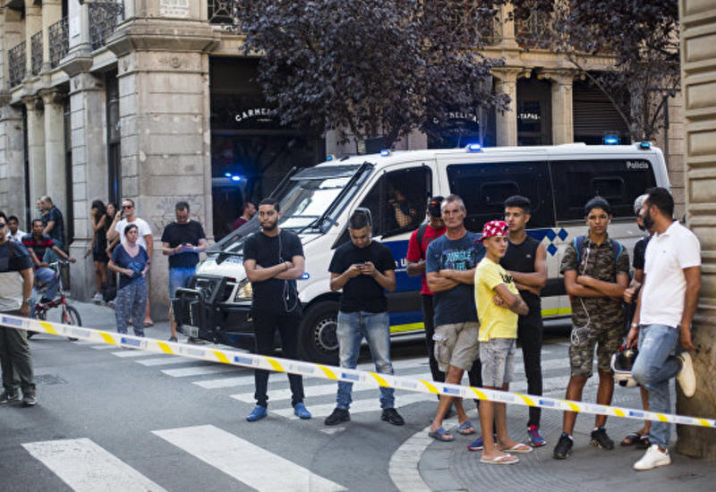 Полиция установила личности задержанных после теракта в Барселоне