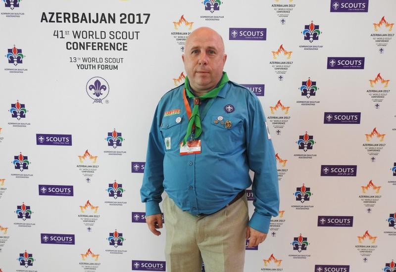 Юрий Батуро: С Азербайджанской ассоциацией скаутов нас связывают очень тесные отношения