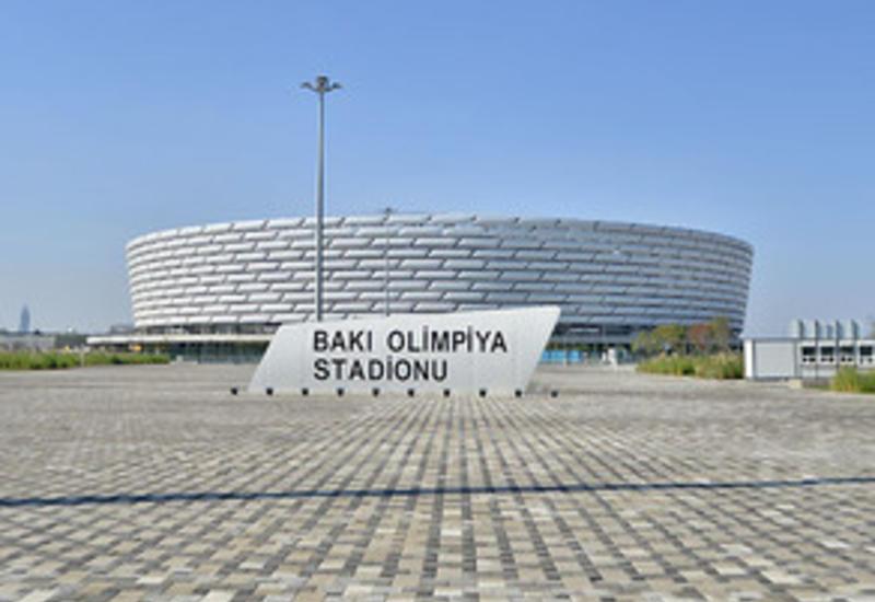 Кувейтские судьи тренируются на Бакинском олимпийском стадионе