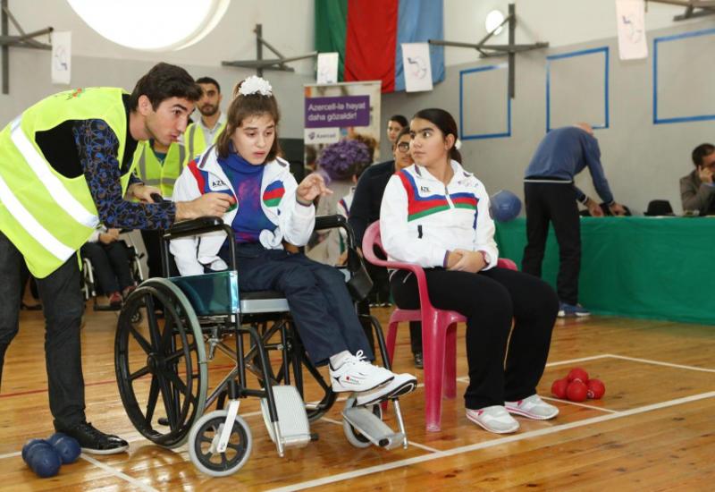 Uşaq paralimpiyaçılarımız boccia üzrə beynəlxalq yarışda