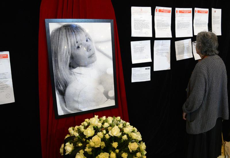 Веру Глаголеву похоронили на Троекуровском кладбище
