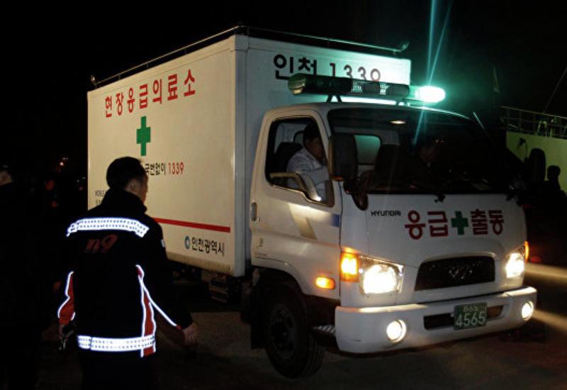 В Южной Корее произошел взрыв на судостроительном заводе