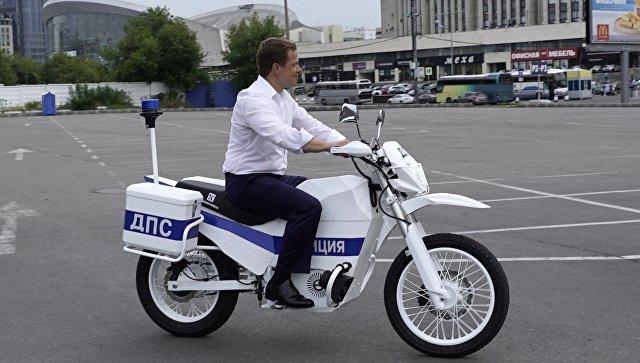 «Калашников» создал бесшумный электромотоцикл для милиции