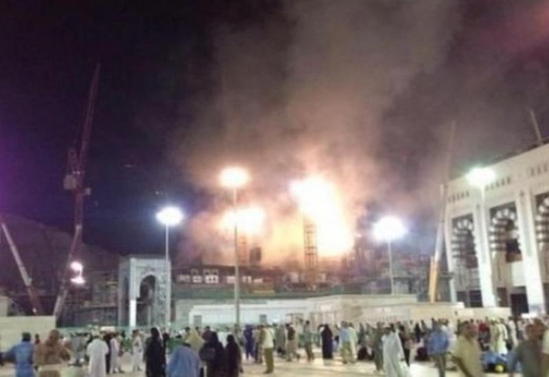 Крупный пожар в Мекке, эвакуированы сотни паломников