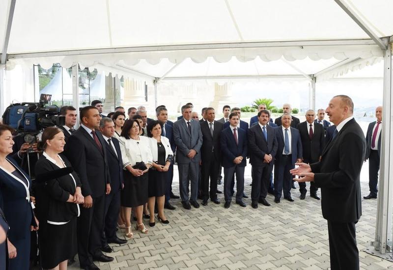 Президент Ильхам Алиев: Отныне сельское хозяйство должно развиваться за счет роста урожайности