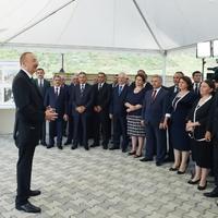 """Президент Ильхам Алиев: """"Не вижу никаких проблем для настоящего и будущего нашей страны, никаких рисков, угроз нет"""""""