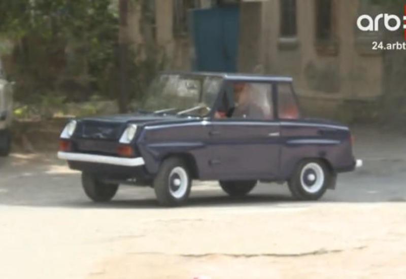 "Sumqayıtda 47 yaşlı 20 minlik retro avtomobil <span class=""color_red"">- FOTO - VIDEO</span>"