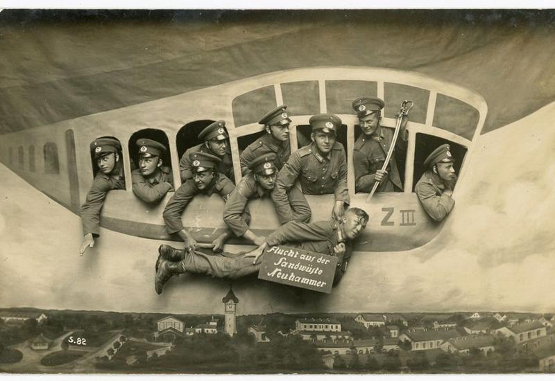 "Фотошопили как могли: снимки 1912-1945 годов с армейским юмором <span class=""color_red"">- ФОТО</span>"