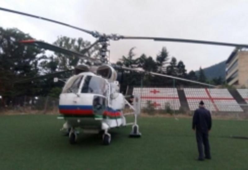 Азербайджан отправил в Грузию дополнительную технику для тушения лесных пожаров