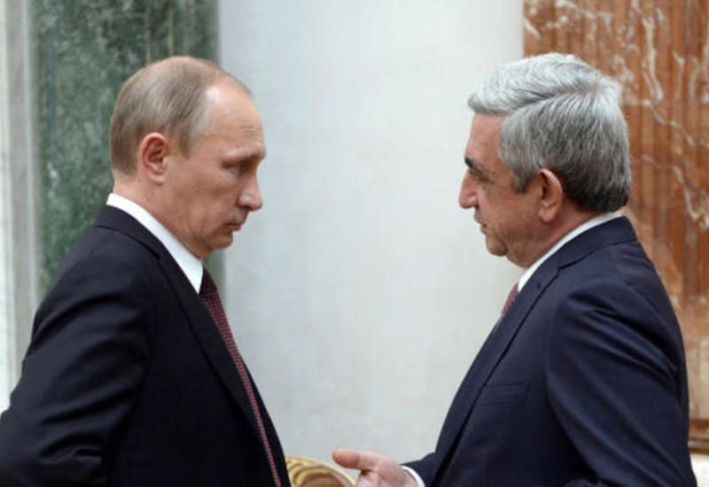 Кремль анонсировал встречу Путина и Саргсяна по Карабаху