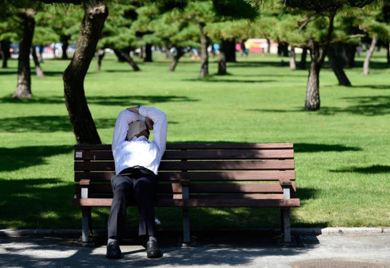 Японцы страдают от жары: 2,5 тысяч человек госпитализированы