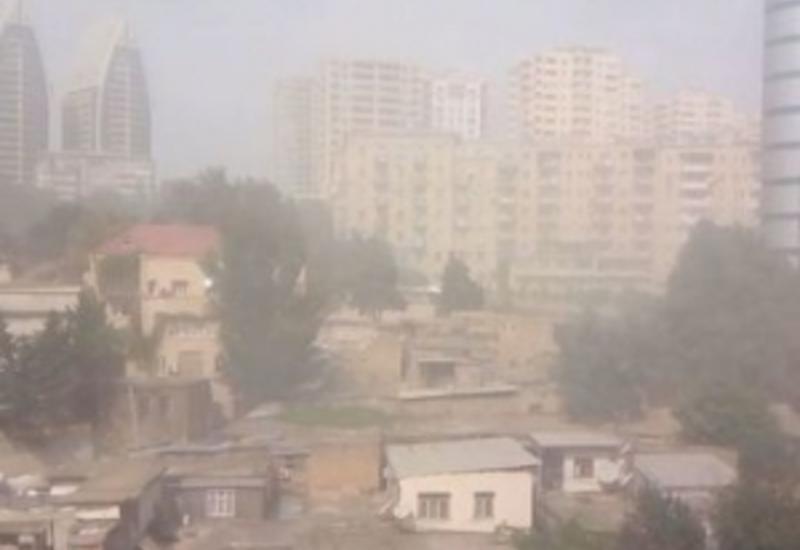 Уровень загрязнения воздуха в Баку резко повысился
