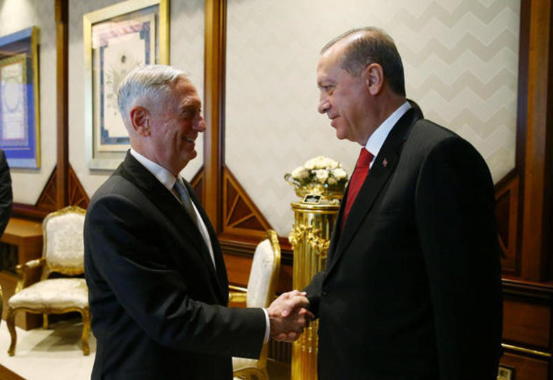 Эрдоган и глава Пентагона обсудили вопрос целостности Ирака и Сирии