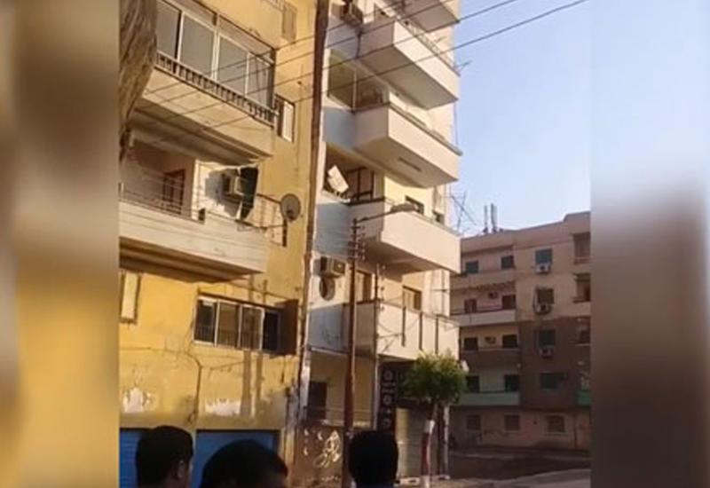 """Здание рухнуло как только жильцы его покинули <span class=""""color_red"""">- ВИДЕО</span>"""