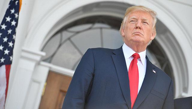 Politico: Трамп убеждал сенаторов непринимать закон осанкциях против РФ