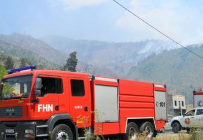 Азербайджанские пожарные в Грузии потушили пожар в зоне своей ответственности