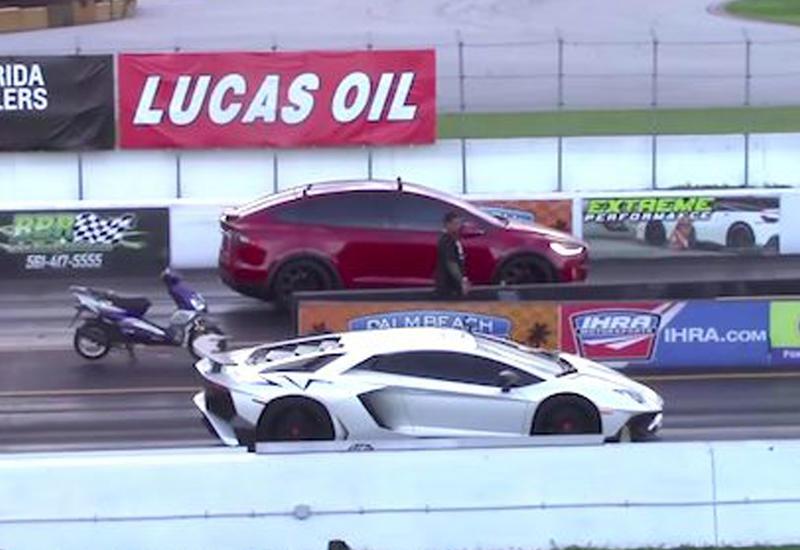 Tesla обогнал Lamborghini и установил мировой рекорд