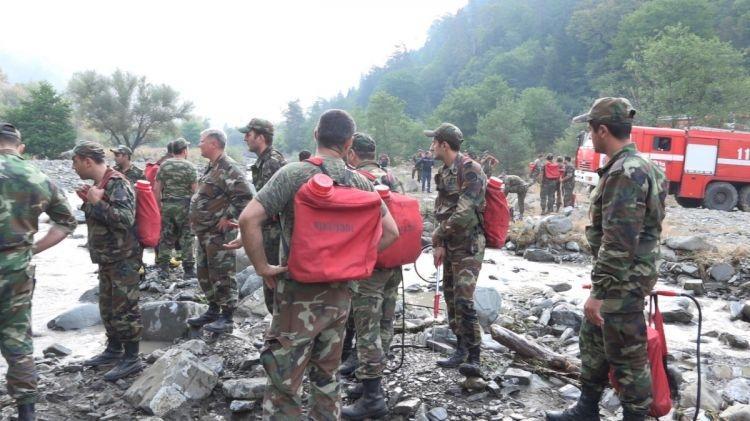 ВГрузии разбился вертолет при тушении лесного пожара