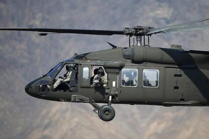 Вблизи Йемена разбился боевой вертолет США