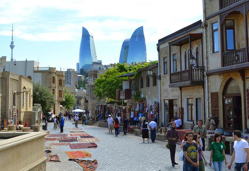 В Азербайджане резко возросло число туристов из Индии